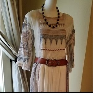Anthropologie Intricate Dress no slip